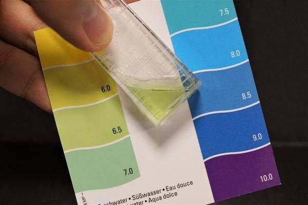 弱酸性、pH